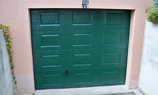Porte de garage sectionnelle sectionnelle lat rale pk - Motorisation porte de garage laterale ...